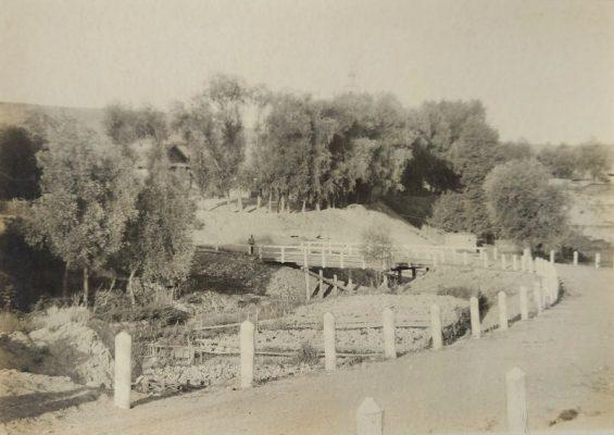 Мост в селе Липовка Камышинского уезда
