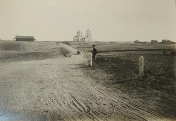 Мост в селе Сестренки Камышинского уезда