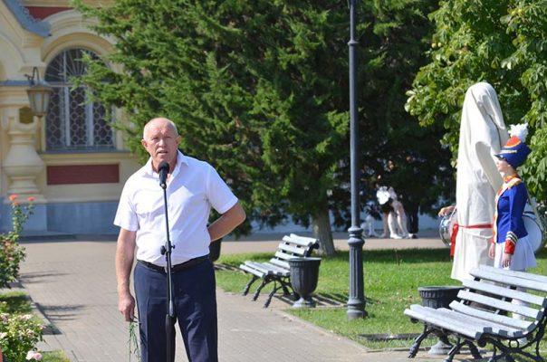 Председатель Камышинской городской думы Владимир Пономарёв (фото Юлии Карпенко)