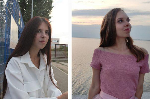 Мария Волкова и Валерия Хорохоркина