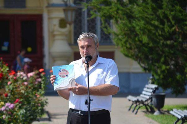 Гость церемонии - профессор Алексей Иванов из Саратова