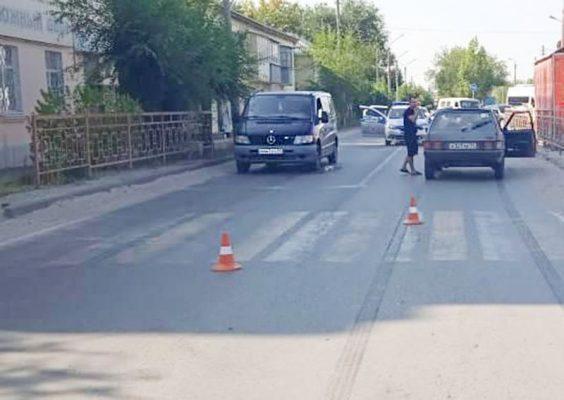На месте ДТП (Межмуниципальный отдел МВД России «Камышинский»)