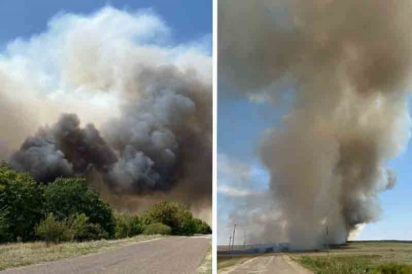 Фотографии пожара Александра Сотникова