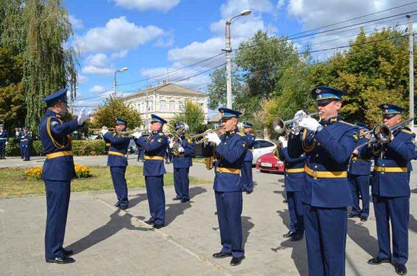 На торжественной церемонии (фото Юлия Карпенко)