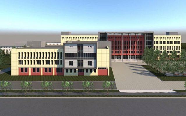 Эскиз здания будущей поликлиники (группе «Подсмотрено. Камышин»)