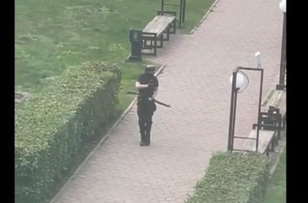 Скриншот с видеозаписи