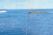 Вид на камышинский островок из рекламного буклета