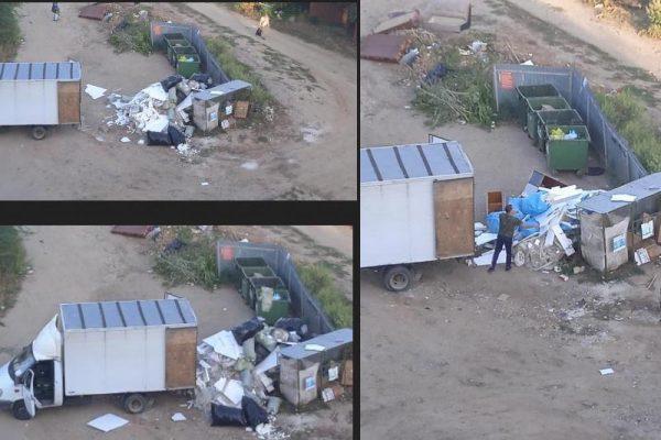 """Сгрузил """"ГАЗель"""" строительного мусора (группа «Подсмотрено. Камышин»)"""