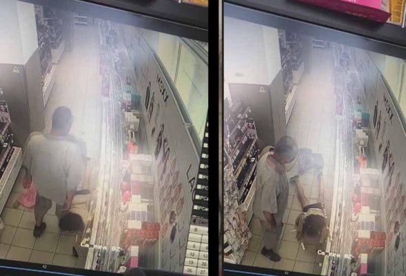 Скриншот с кадров видеозаписи (группа «Подсмотрено. Камышин»)