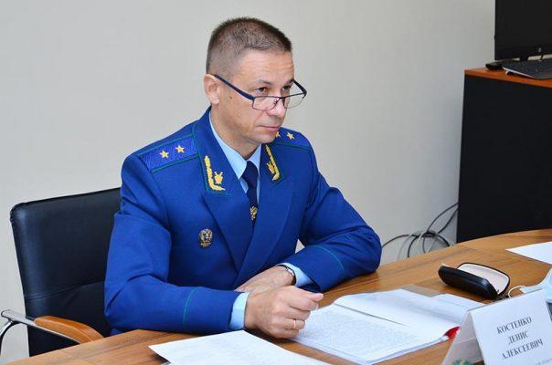 Прокурор Волгоградской области Денис Костенко (пресс-служба облпрокуратуры)