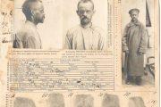 Учетная карточка губернского жандармского управления, составленная на камышанина Пантелеймона Федоровича Лимаренко
