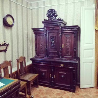 Купеческие шкафы в музее Камышина (автор фотографий Роман Шкода)