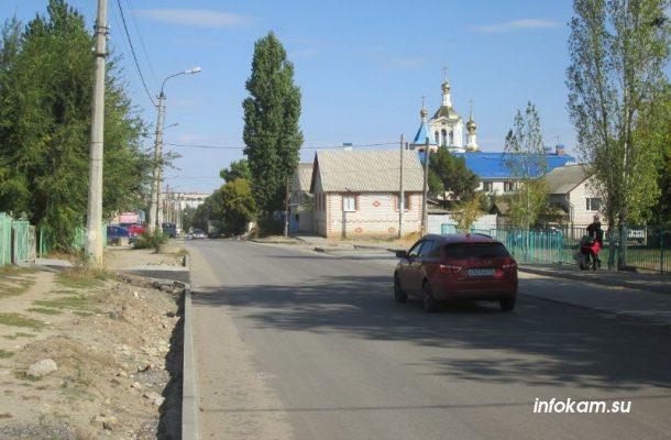 Отремонтированная улица Калинина и новый ливнеперехват